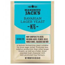 Дрожжи Mangrove Jack's Craft Series - M76 Bavarian Lager Yeast, 10 г