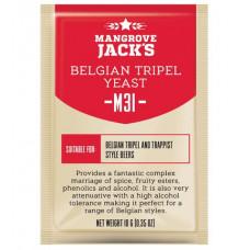 Дрожжи Mangrove Jack's Craft Series - M31 Belgian Tripei Yeast, 10 г