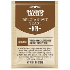 Дрожжи Mangrove Jack's Craft Series - M21 Belgian Wit Yeast, 10 г