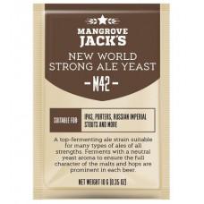Дрожжи Mangrove Jack's Craft Series - M42 New World Strong Ale Yeast, 10 г