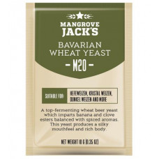Дрожжи Mangrove Jack's Craft Series - M20 Bavarian Wheat Yeast, 10 г