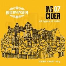 """Дрожжи винные Beervingem для сидра """"Cider BVG-07"""", 10 г"""