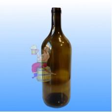 "Бутылка винная ""БОРДО"", оливковая, 1,5 л."