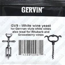Дрожжи винные Gervin GV9 White Wine, 5 г