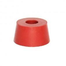 Пробка силиконовая 42-50 мм с отверстием