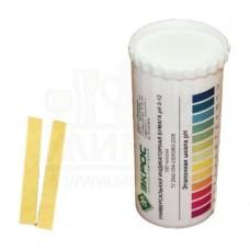 Бумага индикаторная 0-12 pH, тубе по 100 шт