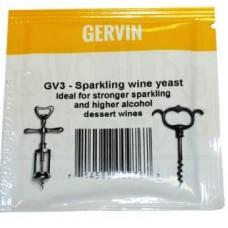Дрожжи винные Gervin GV3 Sparkling Wine, 5 г