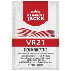 Дрожжи винные Mangrove Jack's - VR21, 8 г.